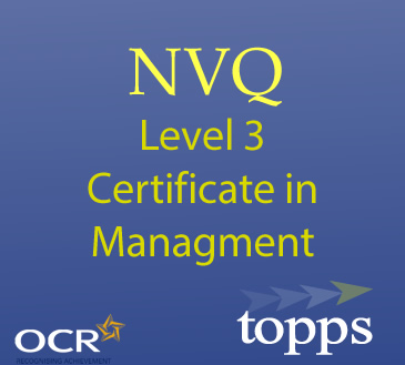 Level 3 NVQ Certificate in Management Image