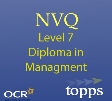 Level 7 NVQ Diploma In Management Image