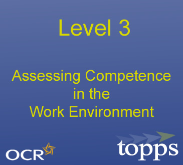 Level 3 Award in Assessing Competence in the Work Environment Image