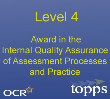 Level 4 Award in Internal Quality Assurance Image