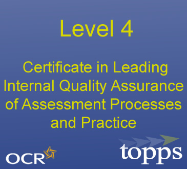 L4 Certificate in Leading Internal Quality Assurance Image