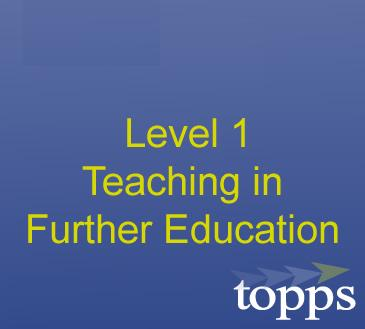 Introduction to Teaching in Further Education Image
